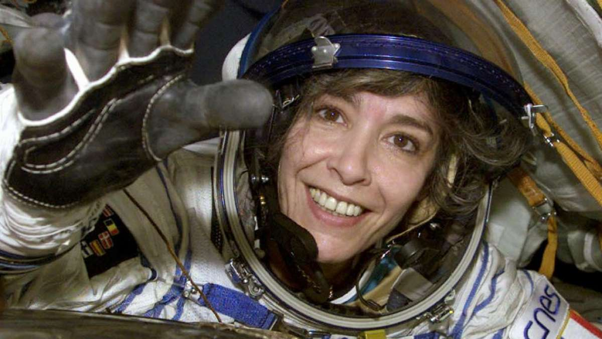 France's first female astronaut allegedly warned the world of an alien invasion before she attempted suicide
