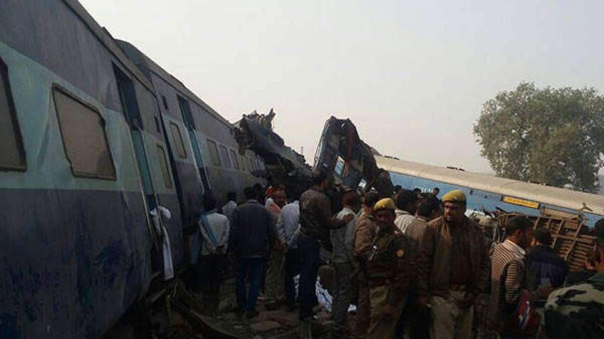 Indore-Patna Express accident