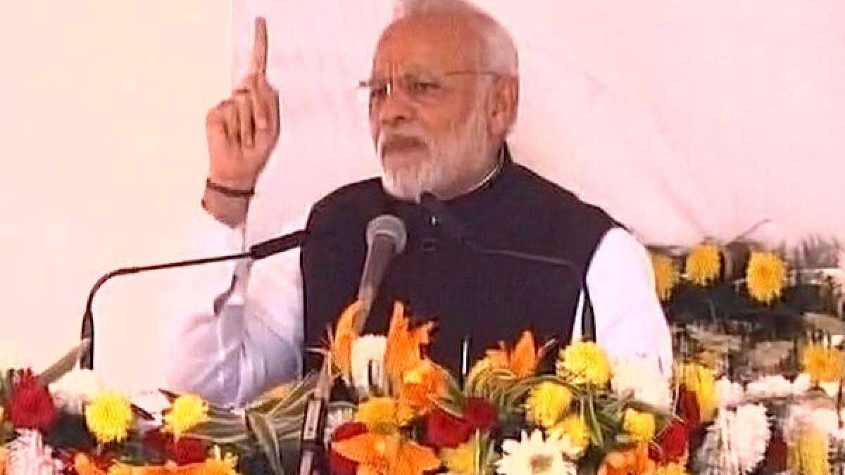 PM Narendra Modi in Bhatinda