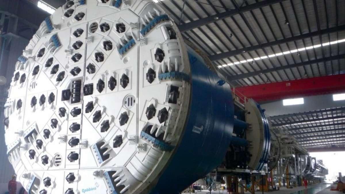 China tunneling shield