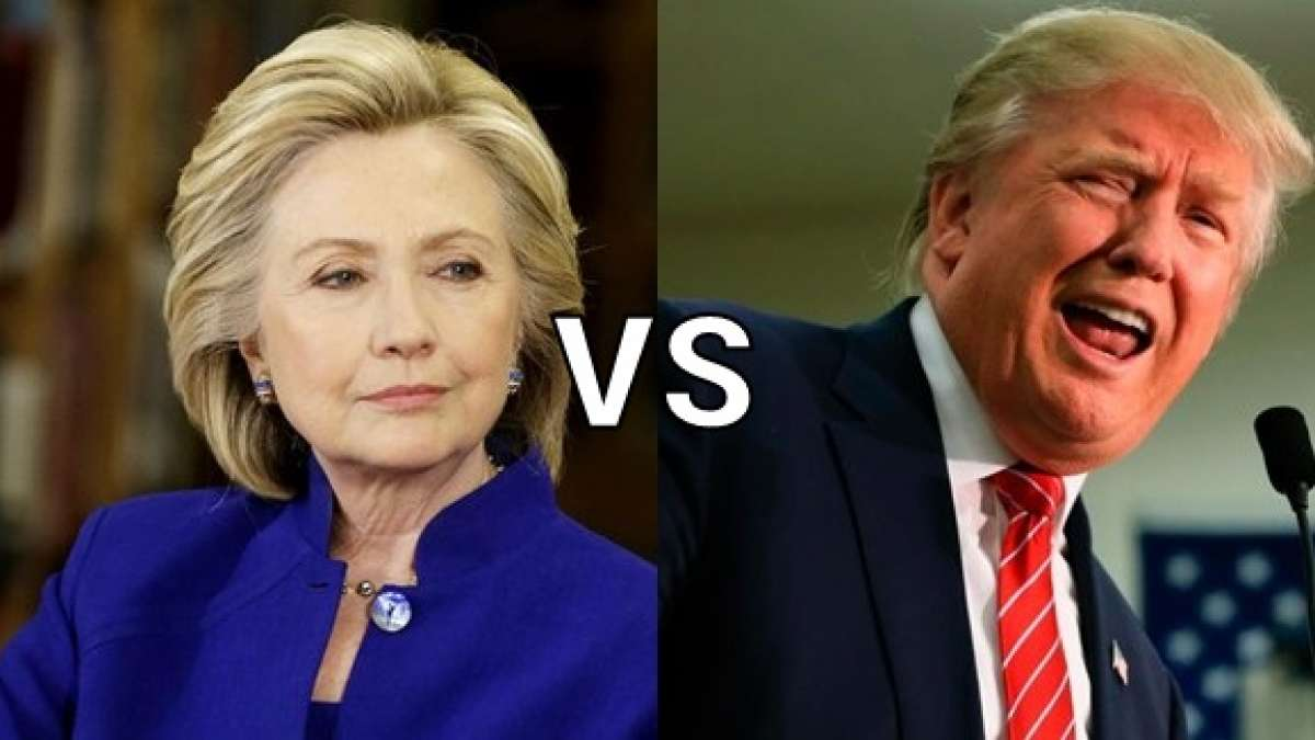Hillary vs Donald again