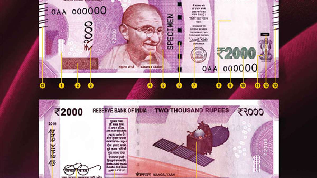 New Rs 2000 currency and its security features
