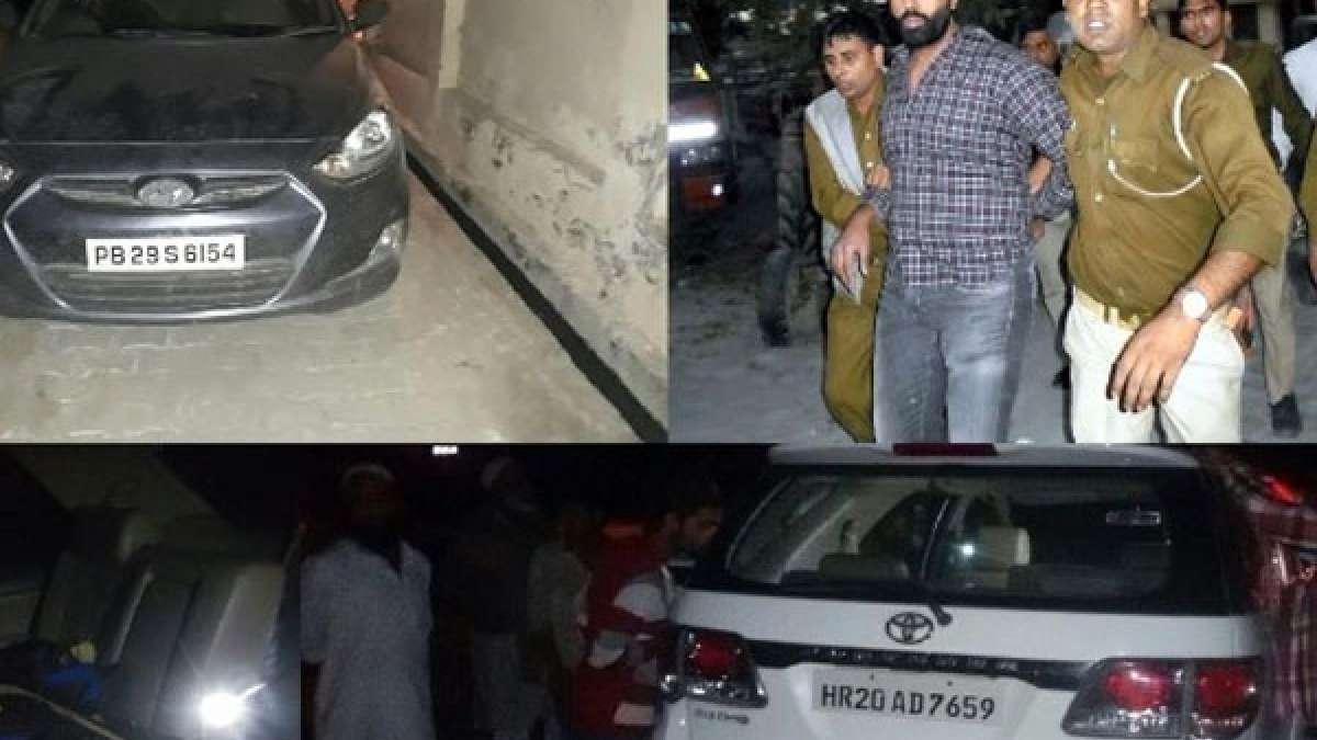 Nabha Jailbreak: Two cars impounded, one suspect held in Shamli