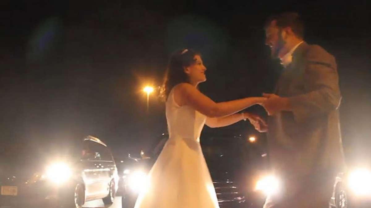 Newlyweds viral dance