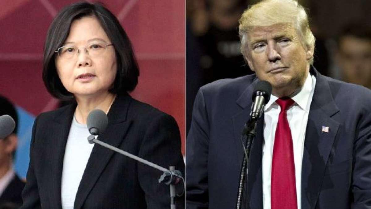Trump-TAIWAN CALL
