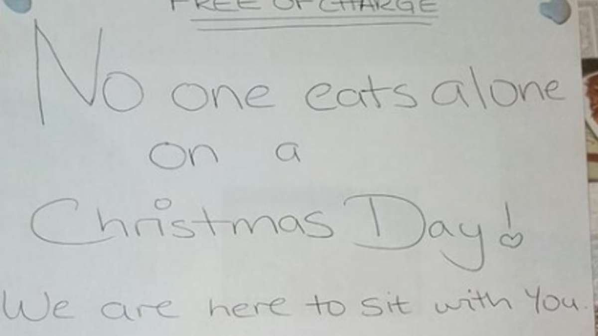 Muslim owned restaurant offers deal on Christmas