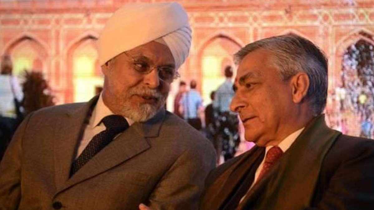 Justice Jagdish Singh Khehar with TS Thakur