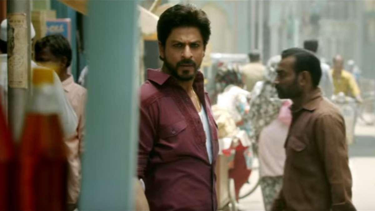 Shah Rukh Khan in 'Raees' trailer