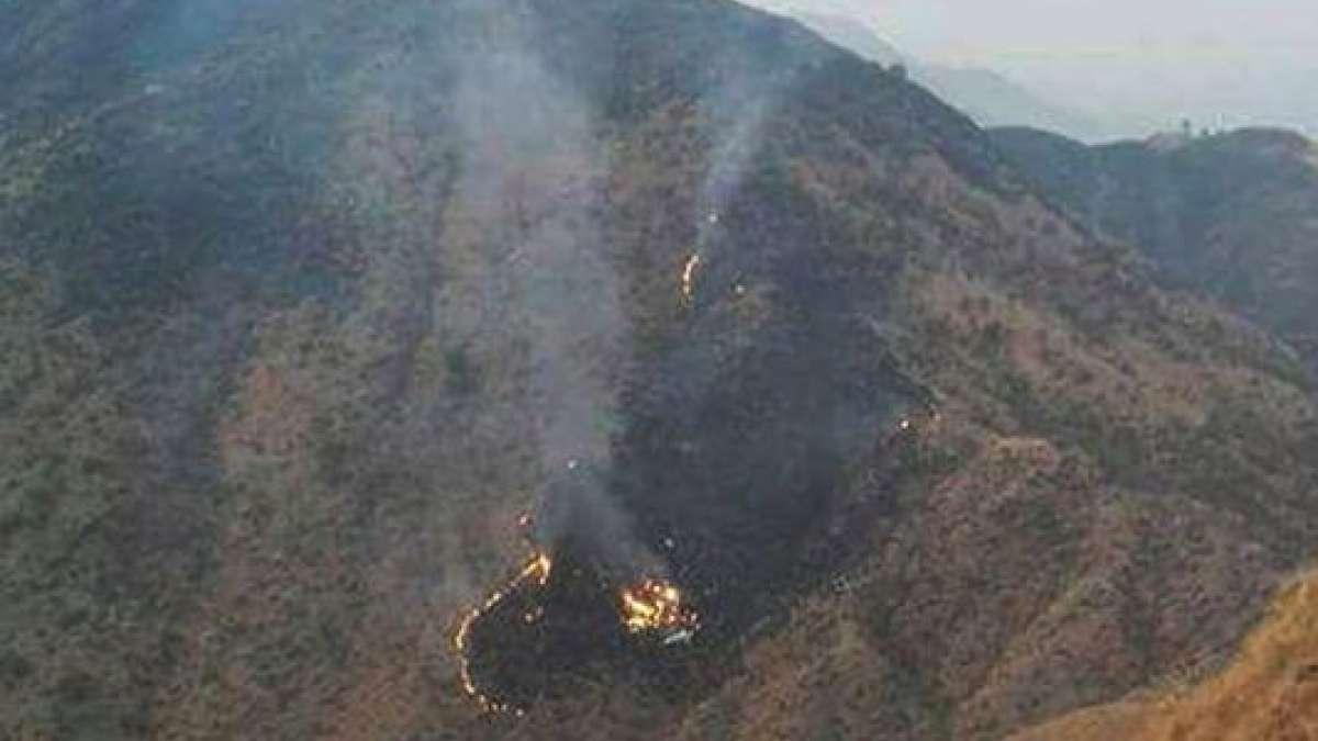PIA flight PK661 crash near Abbottabad
