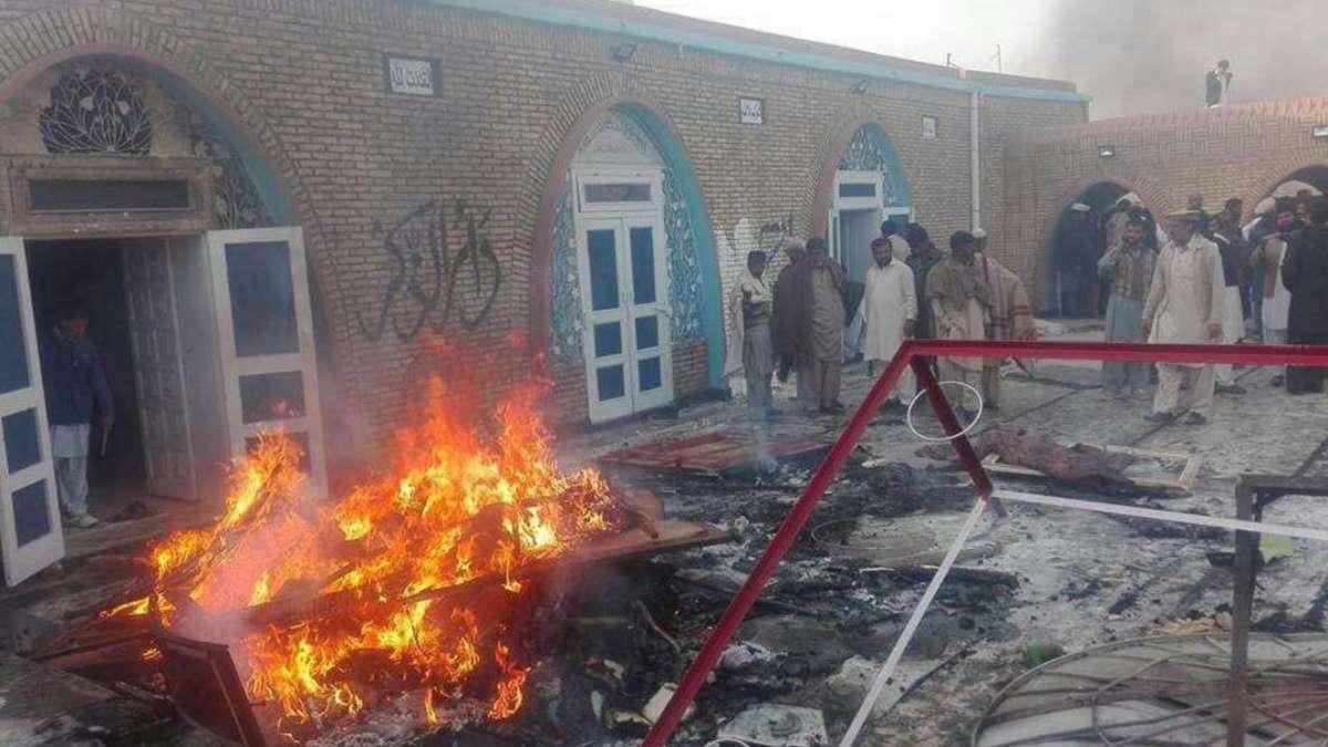 Ahmadi mosque attack
