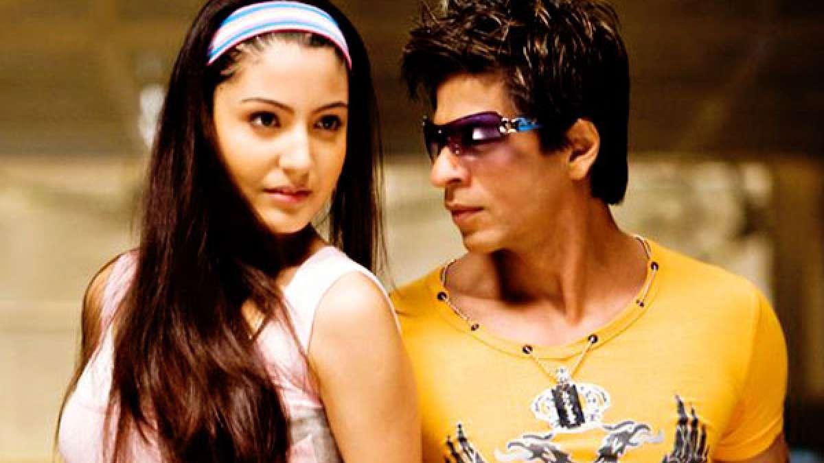 Anushka Sharma with Shah Rukh Khan in 'Rab Ne Bana Di Jodi'