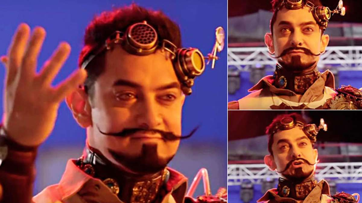 Aamir Khan's look in 'secret superstar'