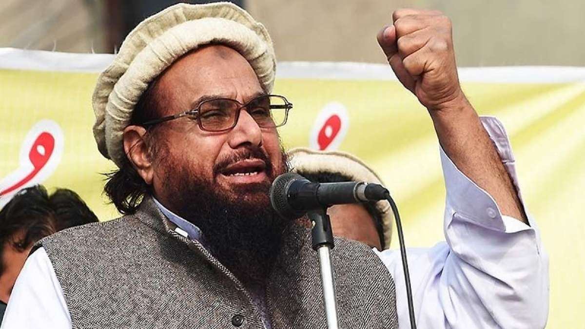 Jammat-ud-Dawah chief Hafiz Saeed during a rally