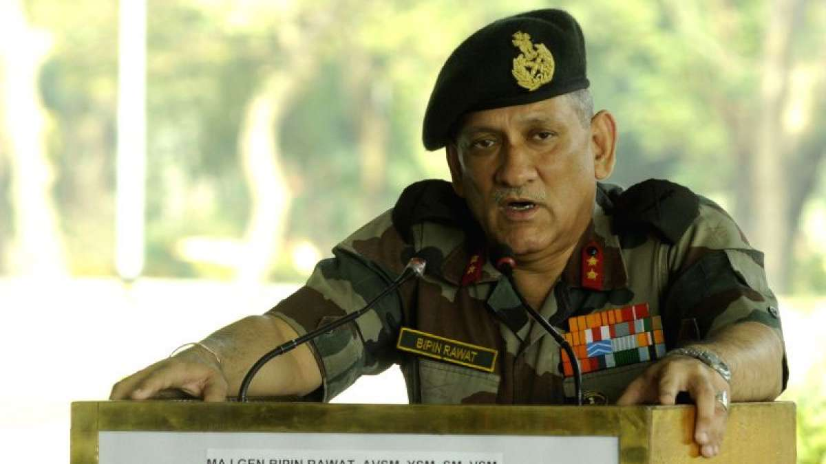 India's new army chief Bipin Rawat