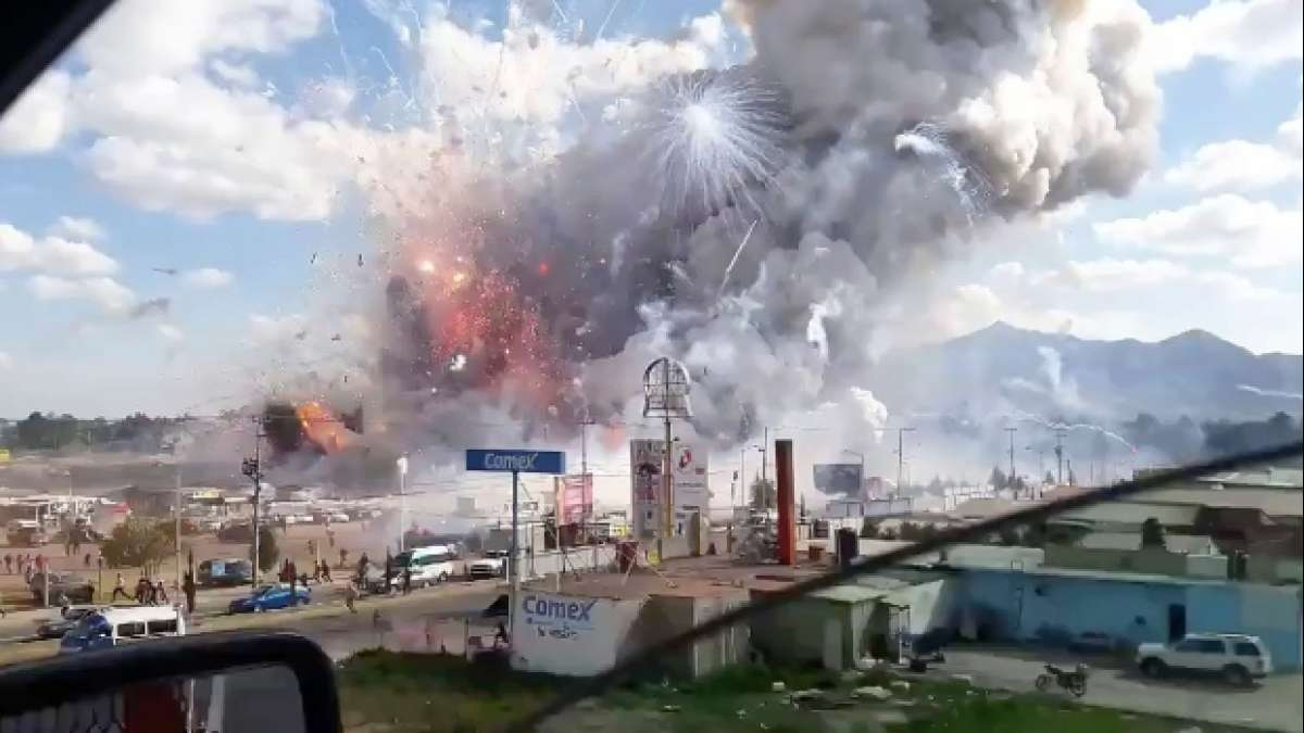 Mexico Fire Explosion