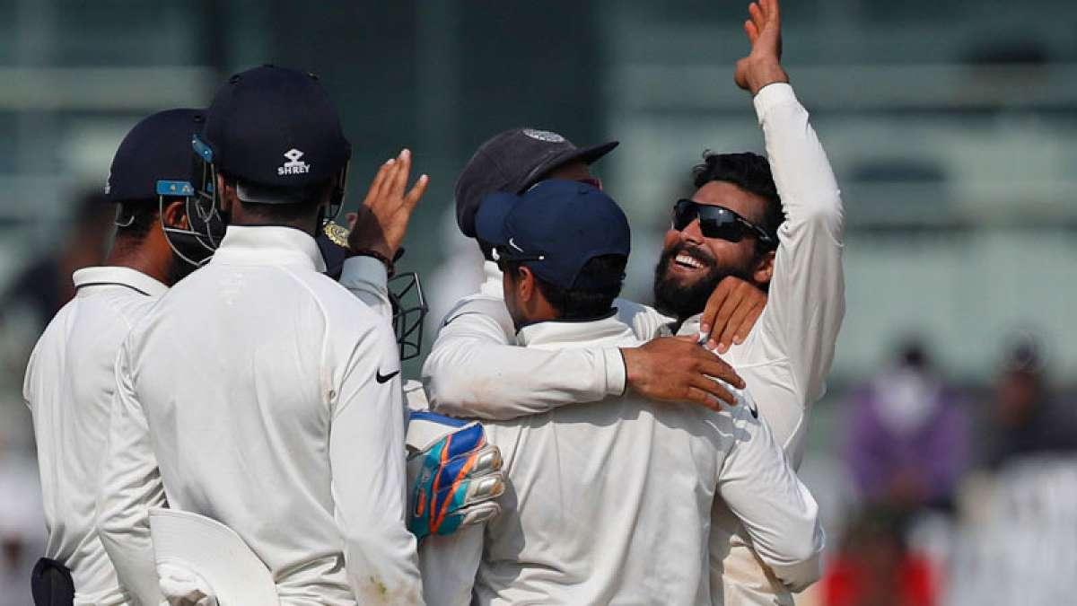 Ravindra Jadeja in Chennai Test