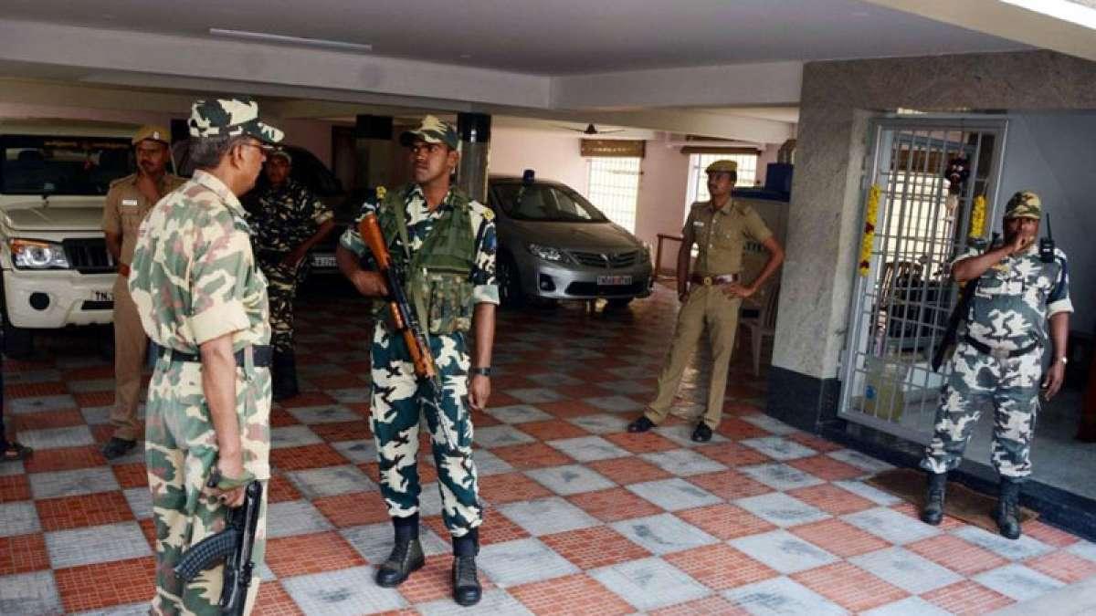 Income Tax raid at TN chief secretary P Rama Rao
