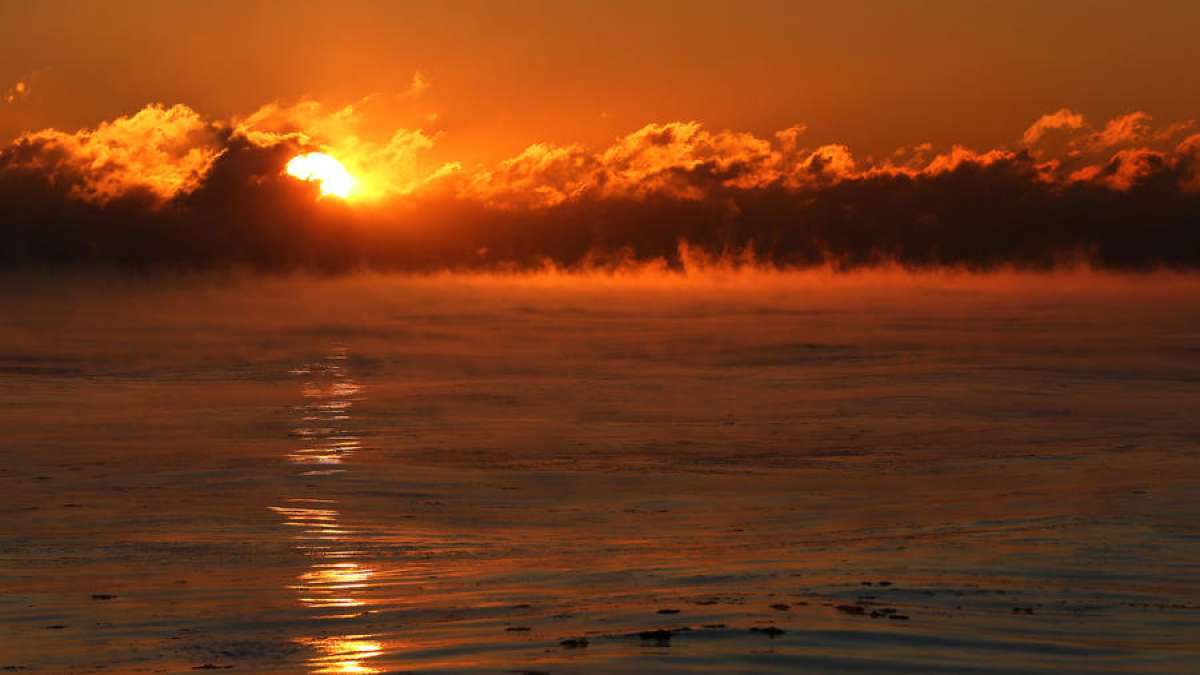 Sea smoke (Pic by Chris Walker)