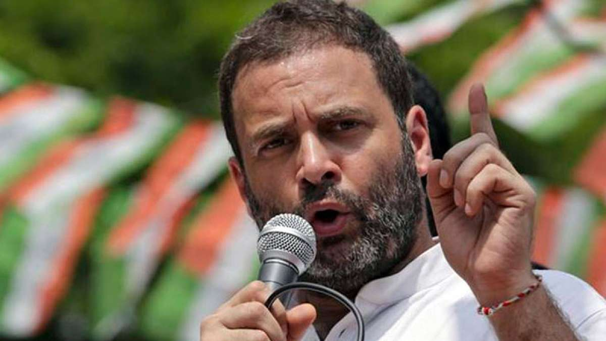 Rahul Gandhi alleges Narendra Modi of corruption