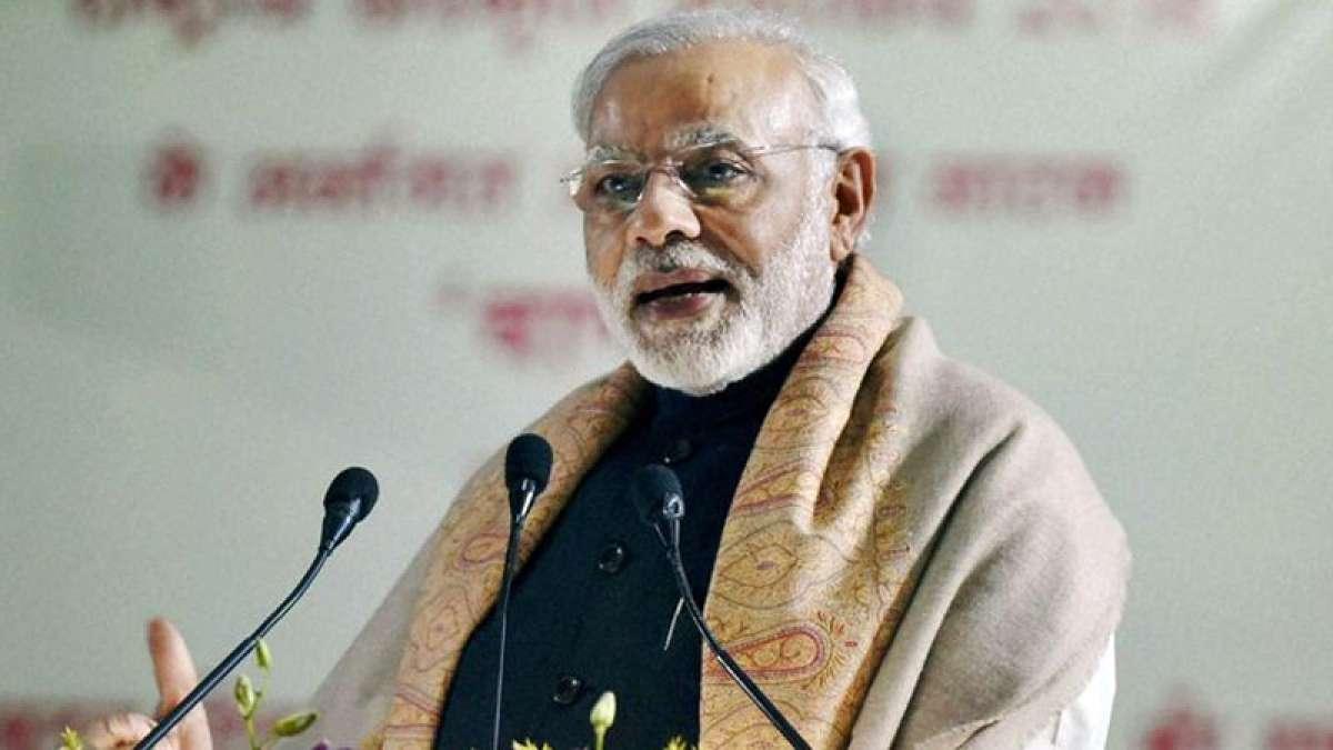 PM Narendra Modi mocks Rahul Gandhi in Varanasi