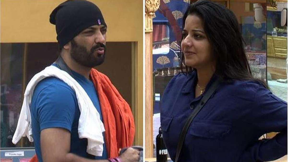 Mona Lisa and Manu Punjabi in Bigg Boss 10