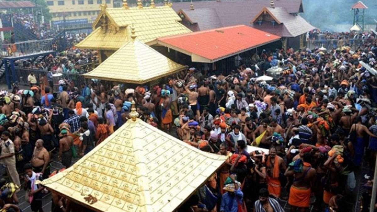 Stampede at Sabrimala temple after railing falls