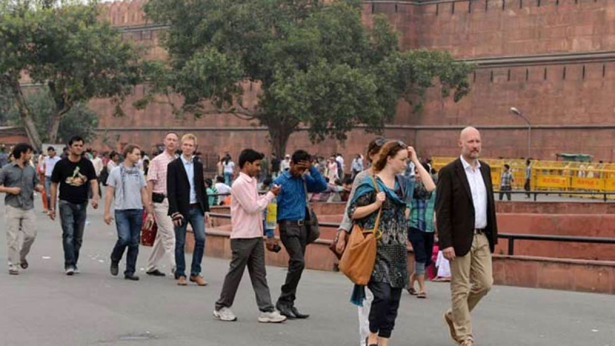 Foreign tourists in India post demonetisation
