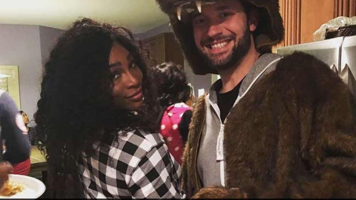Serena Williams engaged