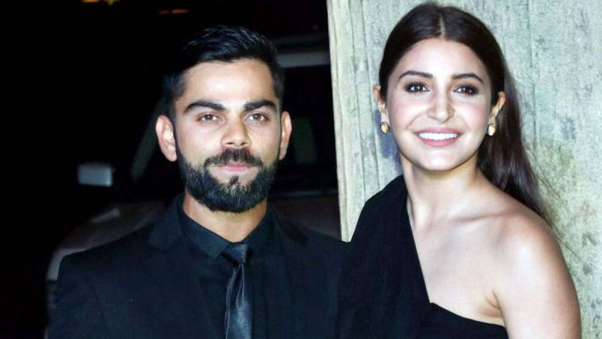 Virat Kohli and Anushka Sharma strike a pose