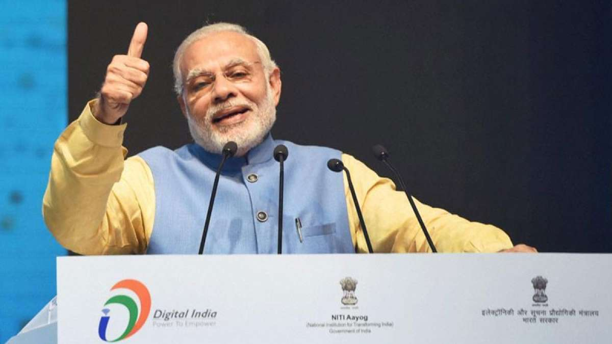 PM Narendra Modi introduces BHIM as Paytm rival