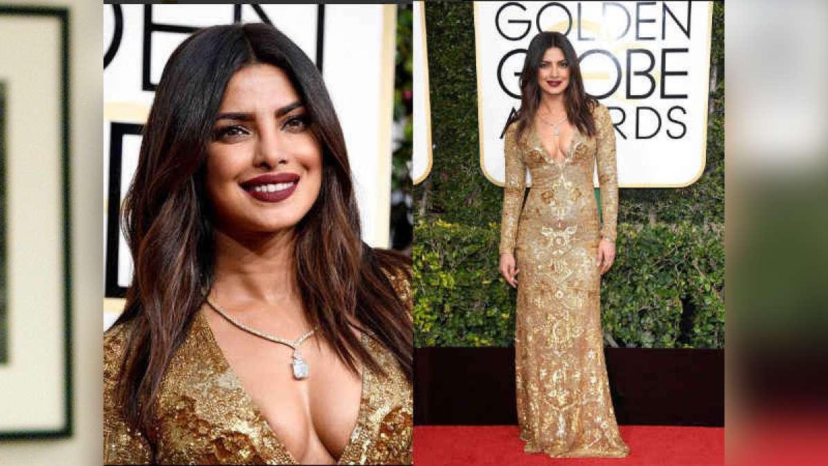 Bollywood actress Priyanka Chopra at Golden Globe Awards