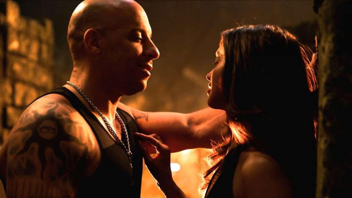 Deepika Padukone and Vin Diesel in xXx: The Return of Xander Cage
