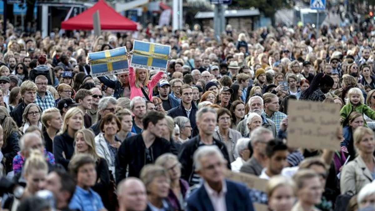 Sweden's population is about to reach 10 million next week