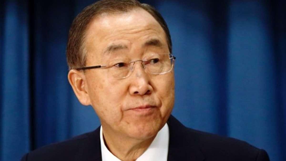 Former UN chief Ban Ki-moon