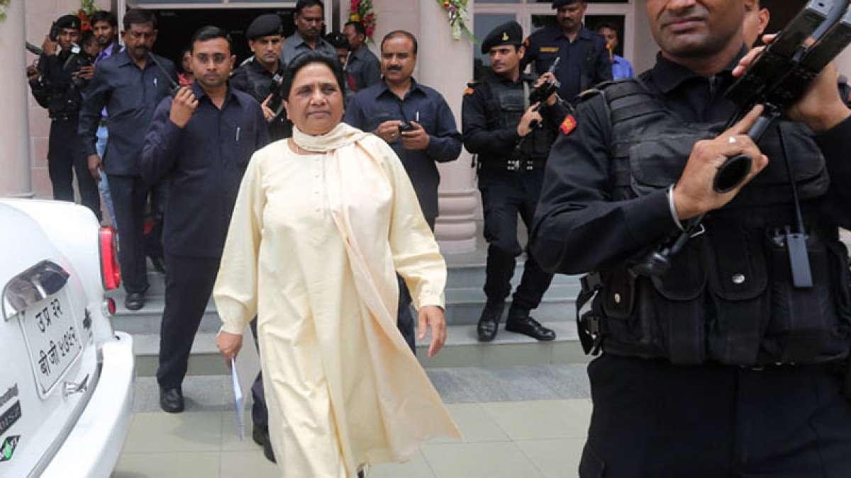 BSP supremo accuses Modi government of working against Dalits in Uttar Pradesh