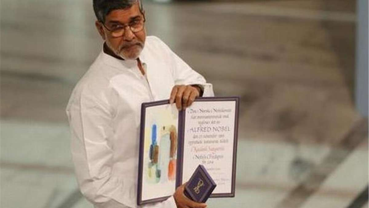 Kailash Satyarthi's Nobel Prize replica and citation recovered, 3 arrested in Delhi