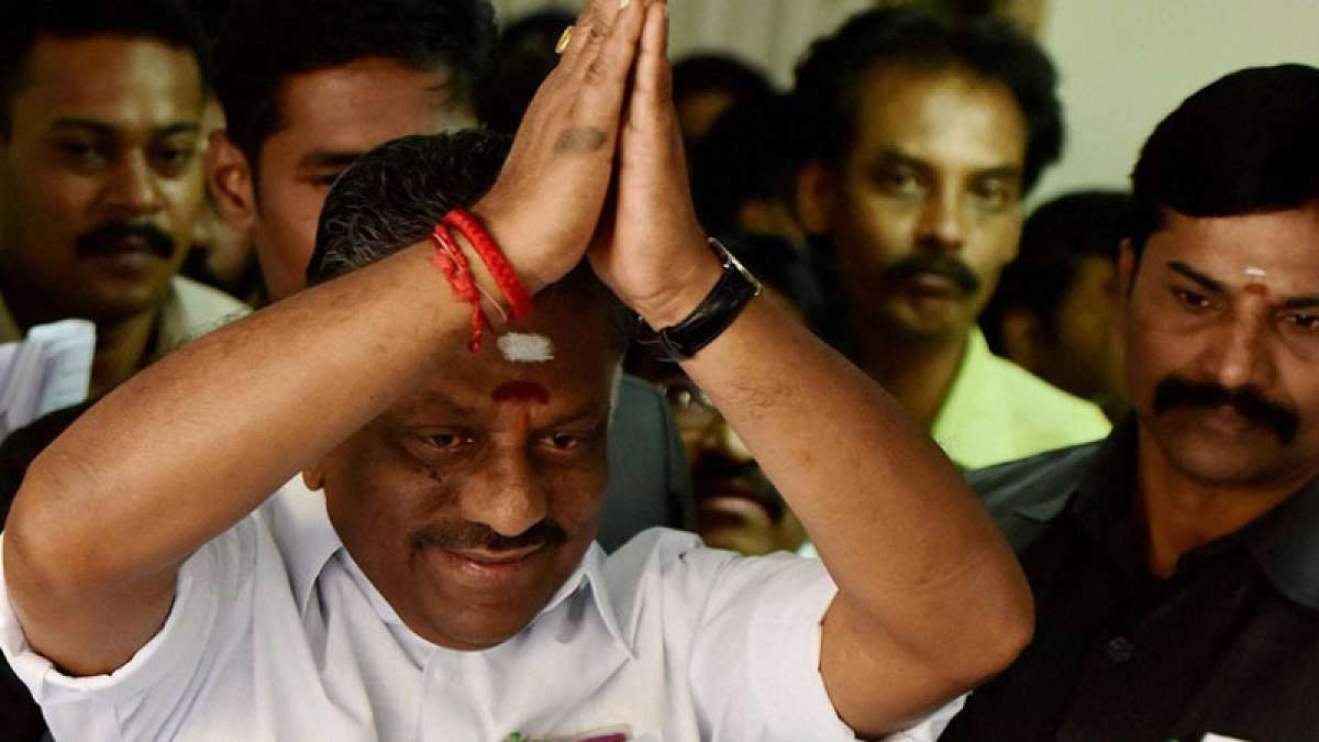 O Panneerselvam hails Supreme Court verdict on Sasikala