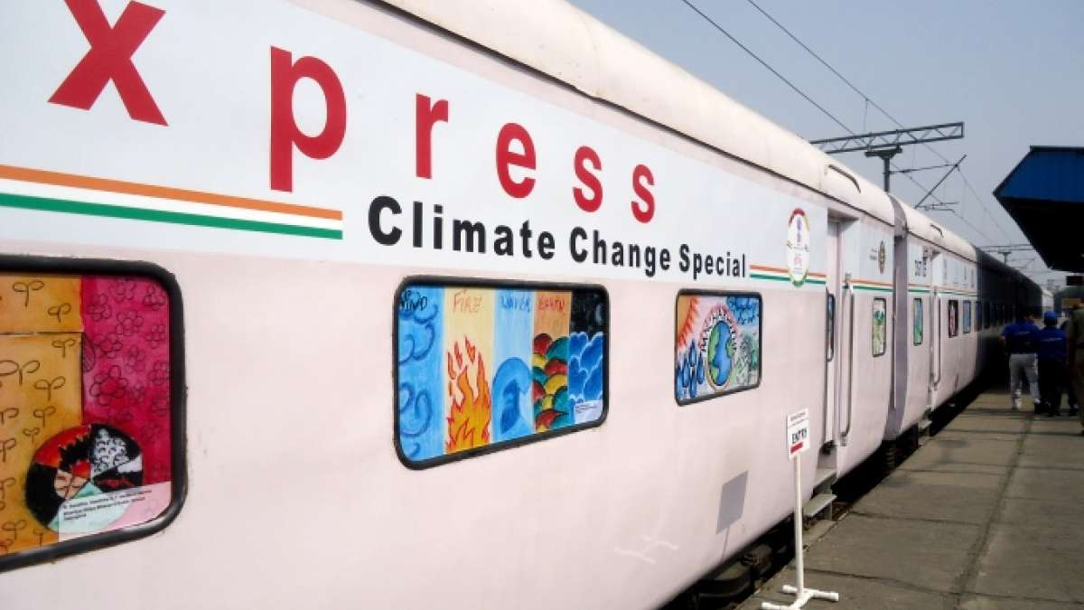 Science Express flagged off for climate change awareness
