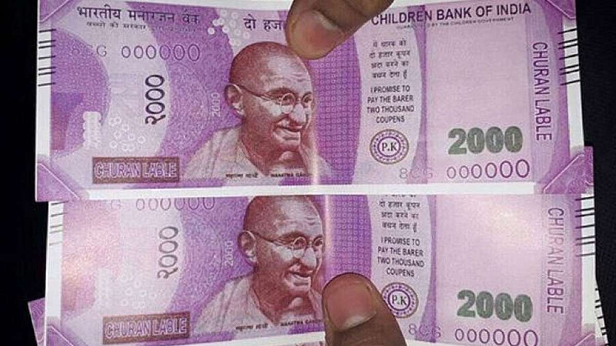 Fake Rs 2000 currency notes in Delhi ATM machine