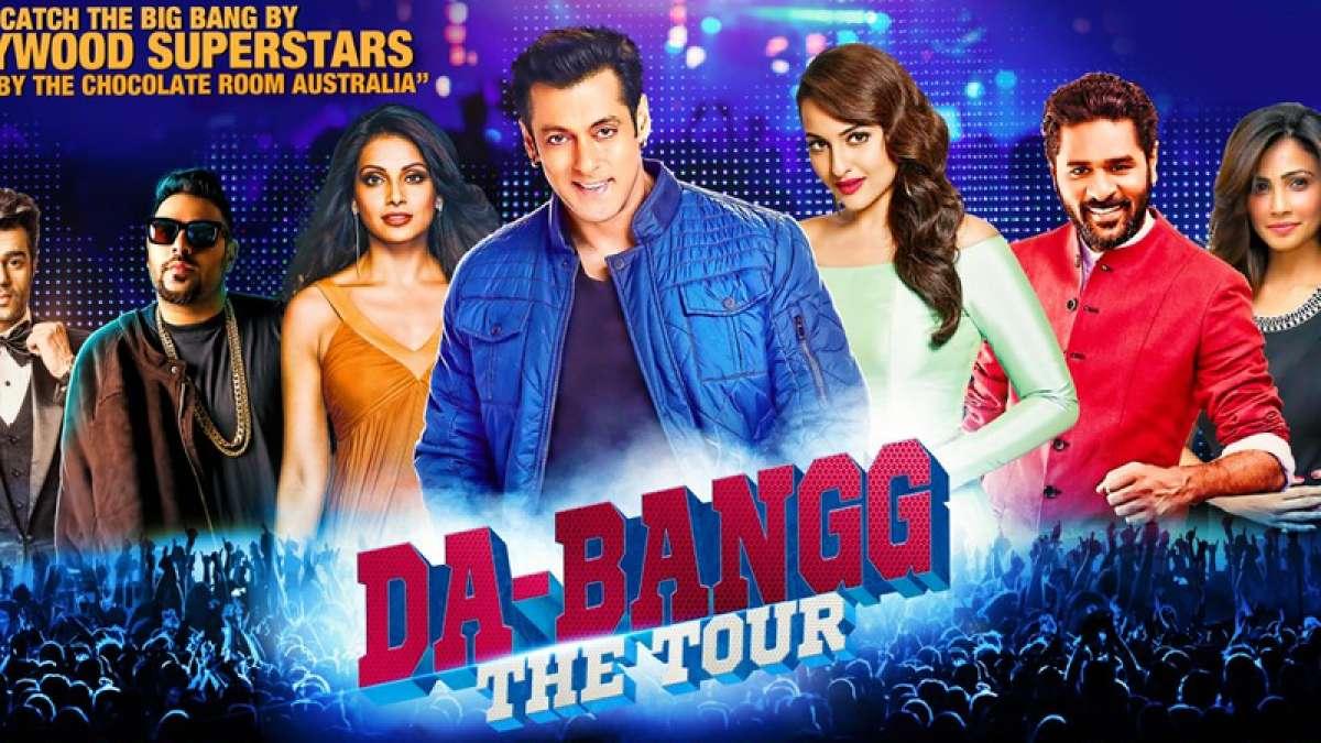Poster of Salman Khan's Da-Bangg world tour