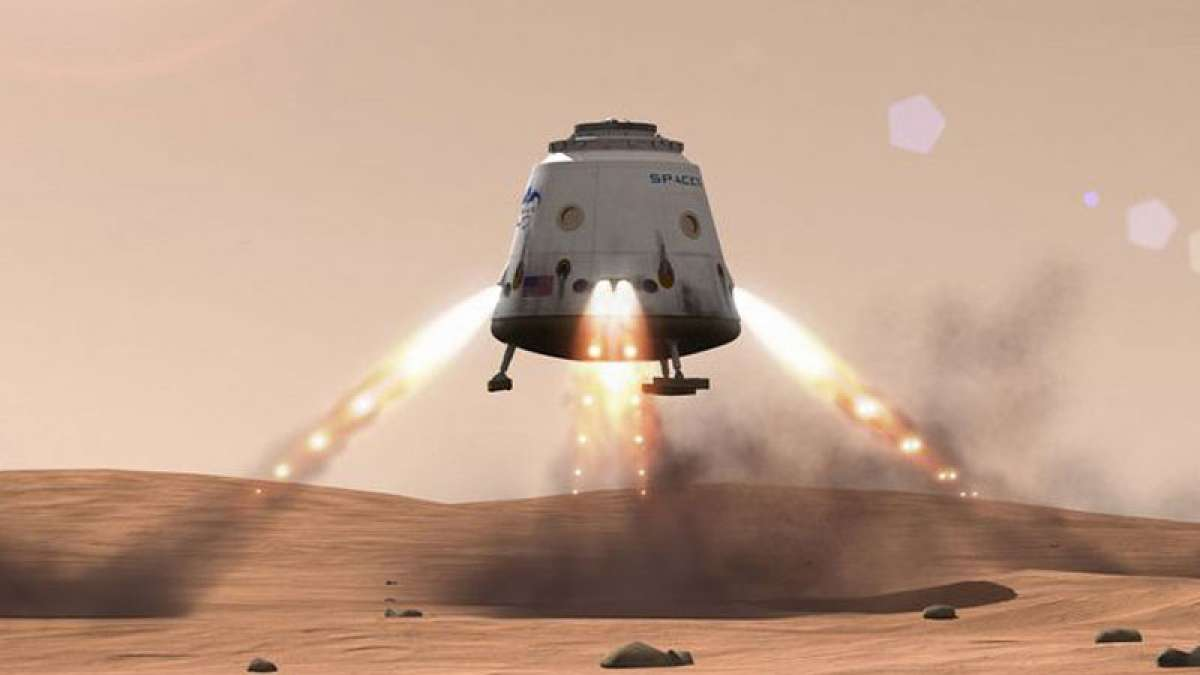 SpaceX, NASA working together to find landing spots on Mars