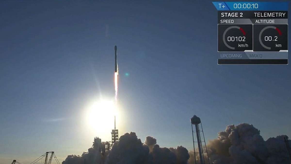 Space X launches 'used' Falcon 9 rocket
