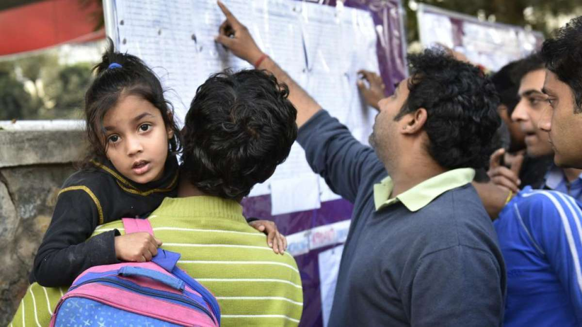 Delhi Nursery Admission Results 2017 at edudel.nic.in, check full list here