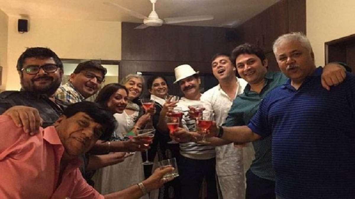 "Actor Sumeet Raghvan,shooting for web-series ""Sarabhai vs Sarabhai"", celebrated his 46th birthday"