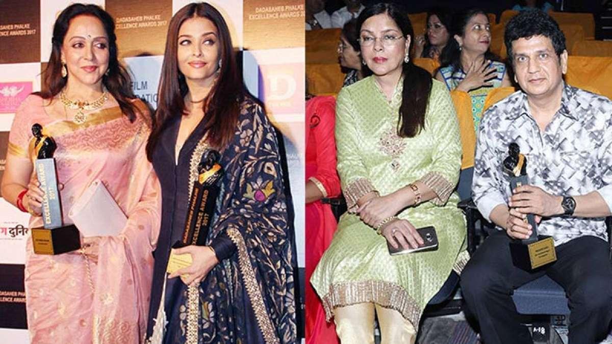 Dadasaheb Phalke Excellence Awards 2017: Hema Malini, Aishwarya, Zeenat win big