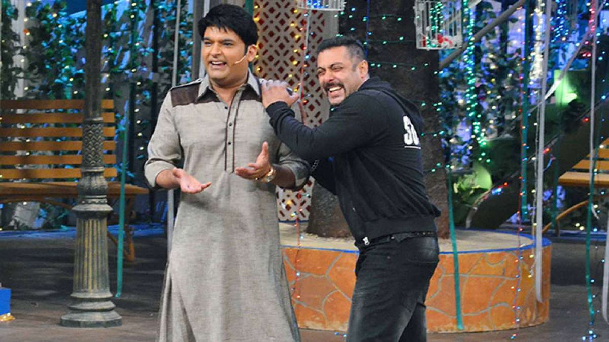 Kapil Sharma with Salman Khan