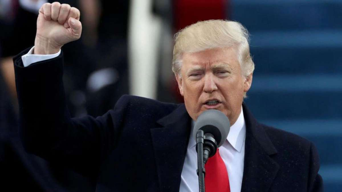 US President Donald Trump cries family problem during interview