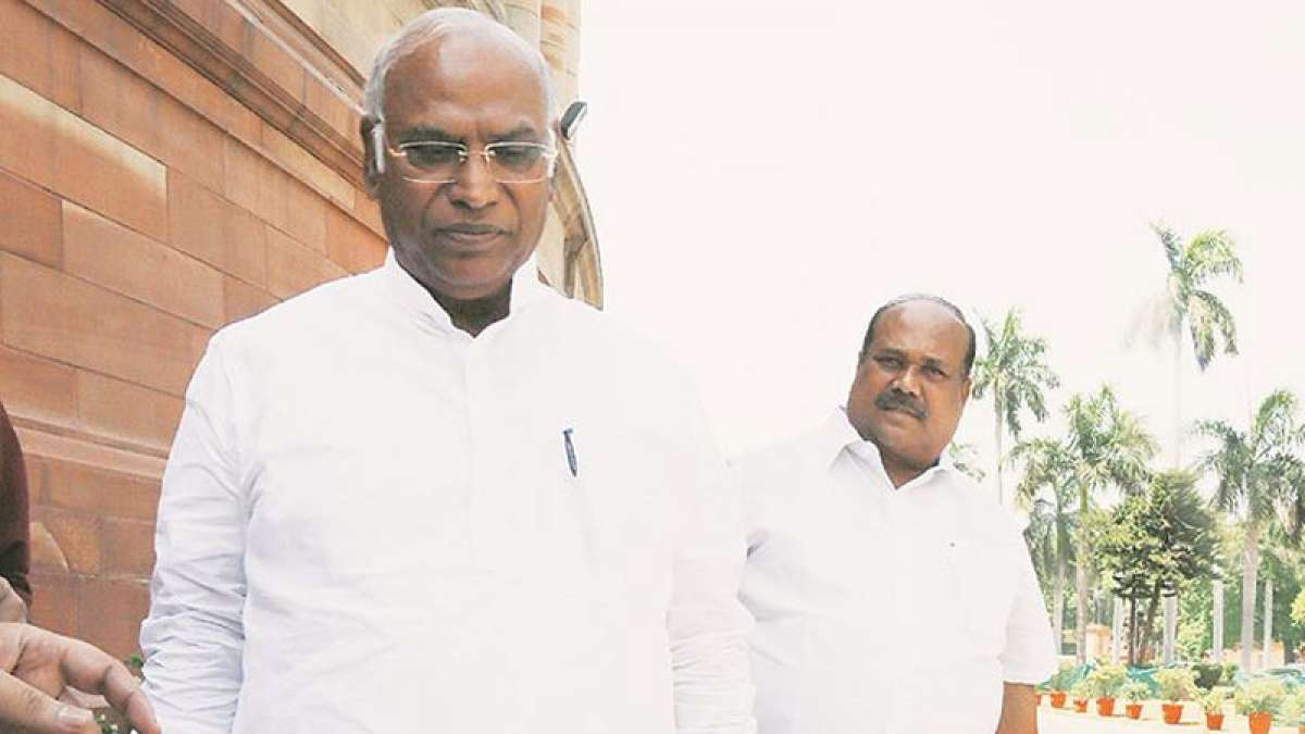 Congress leader in Lok Sabha Mallikarjun Kharge