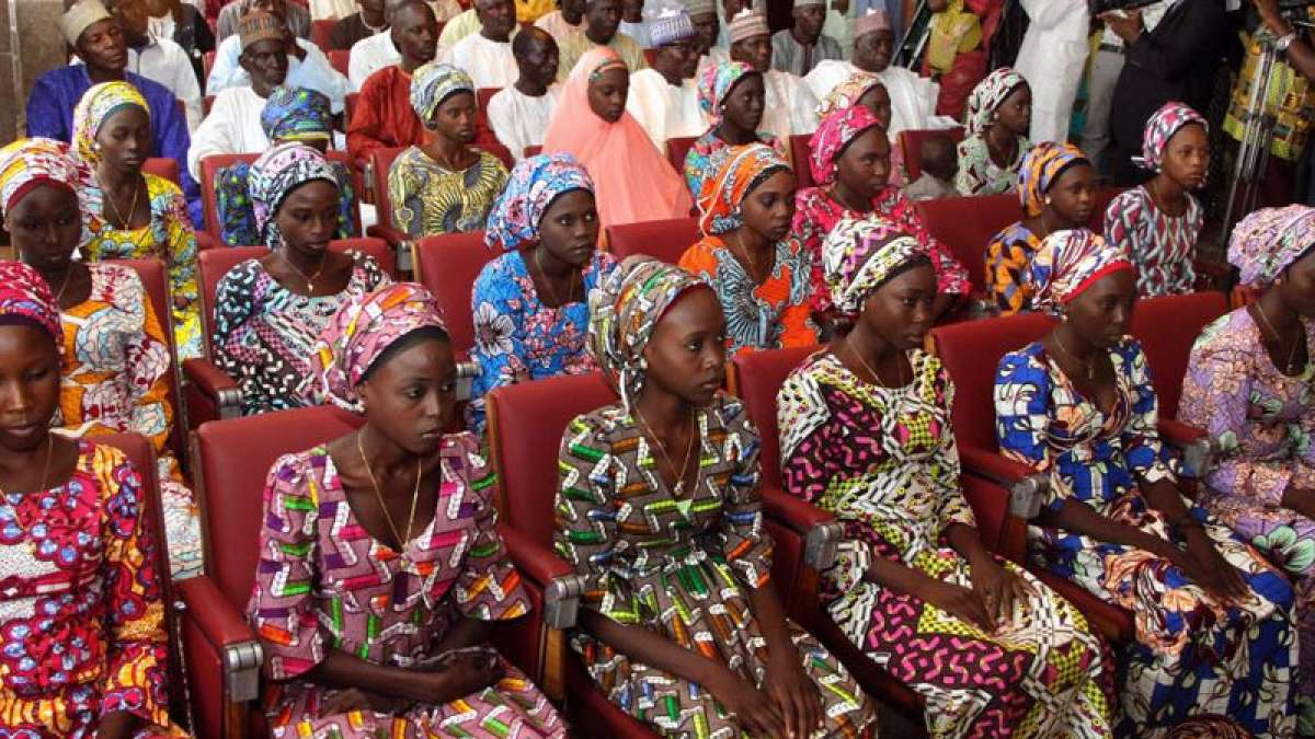 Boko Haram releases 82 Chibok girls in Nigeria
