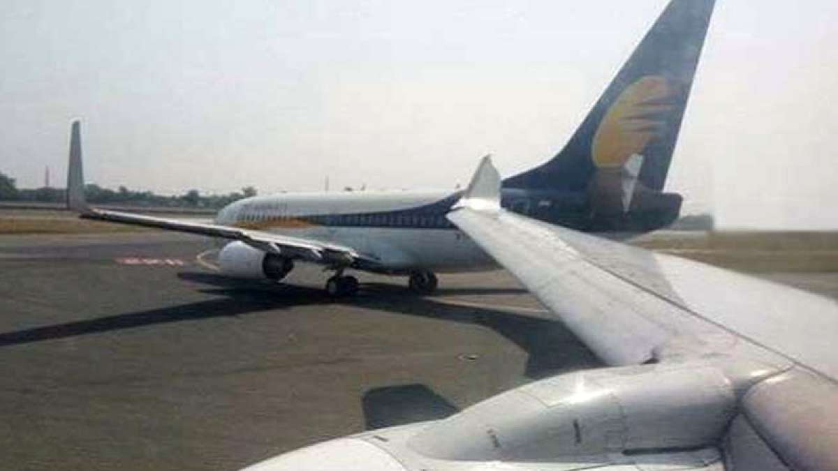 Two Jet Airways planes face minor collision at Delhi airport
